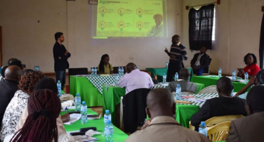 Nakuru County Inception Meeting of the 1million Farmers' Platform