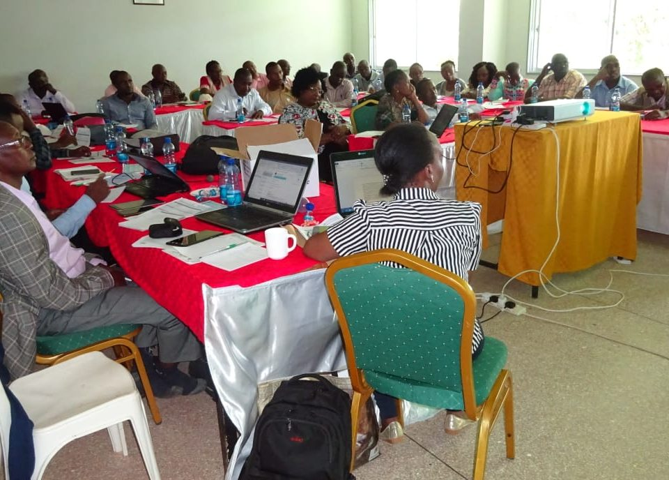 Kuza Digital Extension Platform training in Kitui for AVCD, a Feed the Future Program