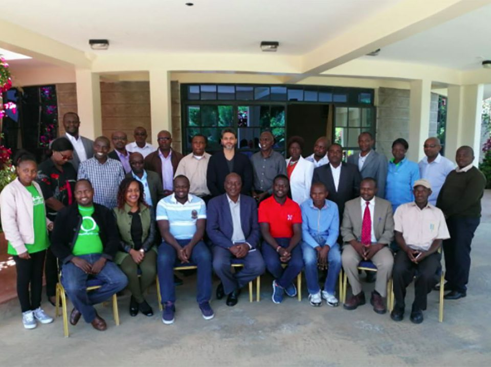 Nyandarua County Inception Meeting of the 1million Farmers' Platform