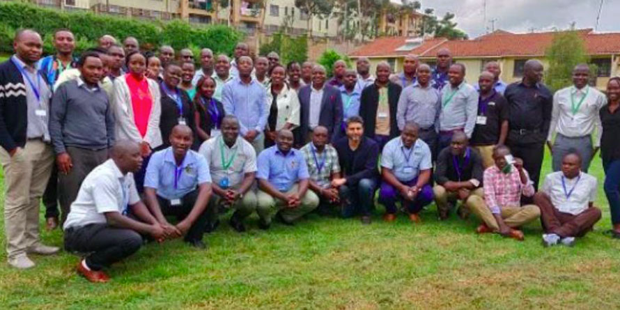 Kuza Mentors leadership team of Cereal Growers Association