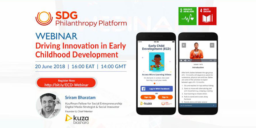 Driving Innovation in Early Childhood Development by UN SDG Philanthropy Platform